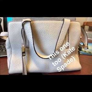 Leather KATE SPADE PURSE